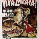 Viva Zapata Style A Movie Poster 13x19