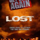 Lost Tv Show Poster Original Double Sided Movie Poster 27x40