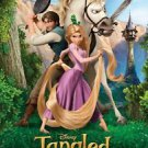 Tangled Style B Original Movie Poster Double Sided 27X40