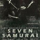Seven Samurai  Style C Movie Poster 13x19 inches