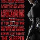 "Ex Machina New York Critics  Two Sided 27""x40' inches Original Movie Poster"