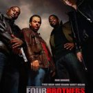 Four Brothers Double Sided Original Movie Poster 27x40 inches