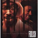 Foolish Single Sided Original Movie Poster 27x40 inches