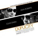 Duplicity Double Sided Original Movie Poster 27x40 inches