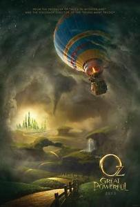 Oz :The Great and Powerful Adv A Double Sided Original Movie Poster 27x40 inches