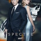 Spectre Style D Movie Poster 13x19 inches