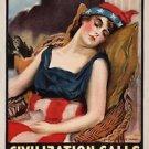 Wake Up America World War I Poster 13x19 inches