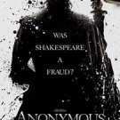 Anonymous Double Sided Original Movie Poster 27x40 inches