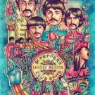 Beatles Sgt Peppers Style b   Poster 13x19 inches