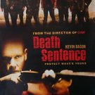 Death Sentence DVD Poster Single Sided 27x40 inches