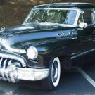 Buick Supe 4 door Black Poster 13x19