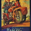 Harley Davidson Style TH Poster 13x19