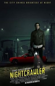 Nightcrawler Original Movie Poster Double Sided 27x40 inches