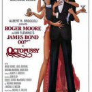 Octopussy Style A Movie Poster 13x19