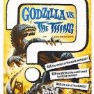 Mothra vs. Godzilla Movie Poster 13x19 inches