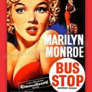 Marilyn Monroe Bus Stop Poster 13x19 inches
