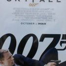 """Skyfall October Imax Final Two Sided 27""""x40' inches Original Movie Poster J.Bond"""