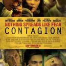 Contagion Double Sided Original Movie Poster 27x40 inches
