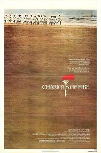 Charliots of Fire Single Sided Original Movie Poster 27x40 inches