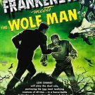 Frankenstein Meets the Wolfman Style B Movie Poster  13x19