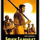 Seven Samurai  Style K Movie Poster 13x19 inches