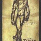 Tarzan Advance A Original Movie Poster Double Sided 27X40