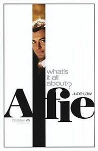 Alfie Single Sided Original Movie Poster 27x40 inches