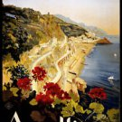 Amalfi Italy Style x Poster 13x19