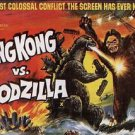 King Kong Vs Godzilla Style D Movie Poster 13x19 inches