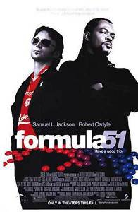 Formula 51 Double Sided Original Movie Poster 27x40 inches