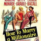 How to Marry a Millionaire Style A  Poster 13x19 inches