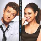 """Friends with Benefits Two Sided 27""""x40' inches Original Movie Poster"""