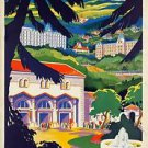 1932 Chatel-Guyon, Auvergne, France poster 13x19inches