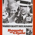 Bonnie and Clyde Version D Movie Poster 13x19 inches