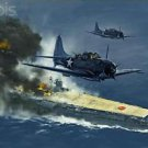 Battle of Midway Style A  Poster 13x19 inches