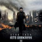 Star Trek : Into the Darkness Double Sided Original Movie Poster 27x40 inches