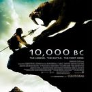 10,000 B.C. Regular Double Sided Original Movie Poster 27 x40