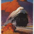 1941 the New EMPIRE STATE EXPRESS Travel poster 13x19 inches