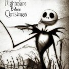 the Nightmare Before Christmas Jack Tim Borton 13x19 inches