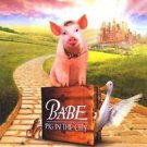 Babe Pig in the City Regular Double Sided Original Movie Poster 27x40 inches