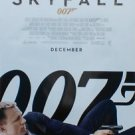 "Skyfall December Final Two Sided 27""x40' inches Original Movie Poster J.Bond"