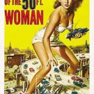 Attack of the 50Ft Woman Style A Movie Poster 13x19 inches