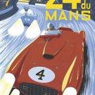 24 h Juin Du Mans1954  Poster 13x19 inches