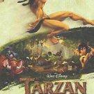 Tarzan Style C Original Movie Poster Double Sided 27X40