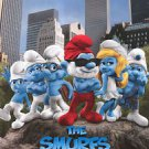 Smurfs International Double Sided Original Movie Poster 27x40 inches