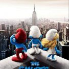Smurfs Advance Double Sided Original Movie Poster 27x40 inches