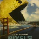 Pixels Advance Original Double Sided Movie Poster 27x40 inches