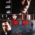 State of Play Single Sided Original Movie Poster 27x40 inches