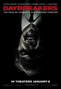Daybreakers Version A Single Sided Original Movie Poster 27x40 inches