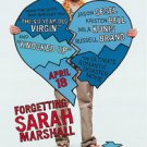 Forgetting Sarah Marshall Double Sided Original Movie Poster 27x40 inches